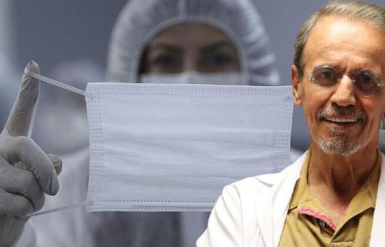 Prof. Dr. Mehmet Ceyhan'dan kritik maske uyarısı: 'Üflediğinizde şişmiyorsa işe yaramıyor demektir'