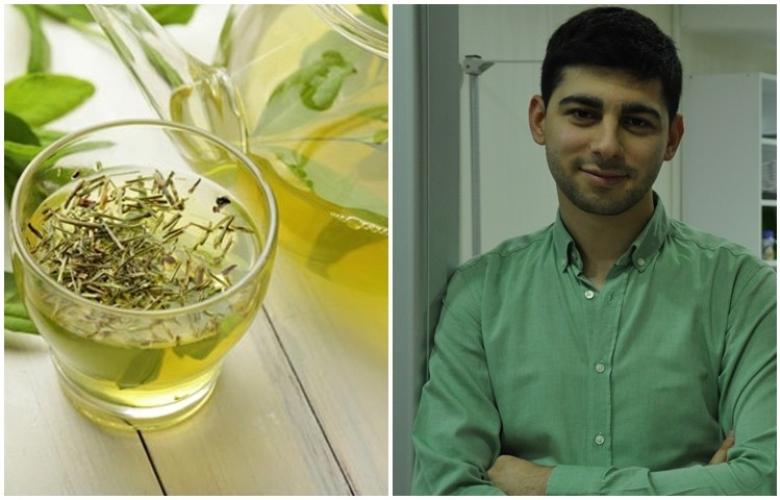 """Diyetisyen Ahmet Akbulut, """"bitki çayları"""" ile ilgili her şeyi yazdı."""